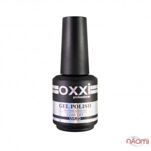 База камуфлююча для гель-лаку Oxxi Professional Cover Base Coat № 10, з шимером, 15 мл