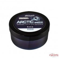 Паста для шугаринга Silk Soft Arctic Breeze чоловіча, парфумована екстра, 400 г