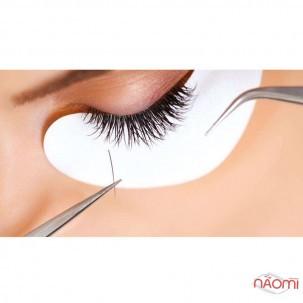 Патчи под глаза на гидрогеле Eye Gel Patches для ламинирования и наращивания в персиковой упаковке