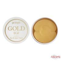 Патчі гідрогелеві для очей PETITFEE Gold & EGF Eye & Spot Patch із золотом, 60 + 30 шт.