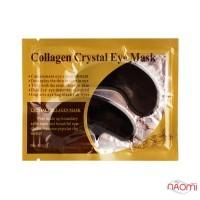 Патчи коллагеновые под глаза Collagen Crystal Eye Mask, с экстрактом зеленого чая, черные, 6 г