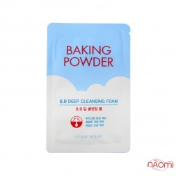 Пінка для очищення Etude House Baking Powder BB Deep Cleansing Foam, 4 мл