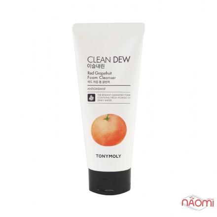 Пенка для умывания Tony Moly Clean Dew Red Grapefruit, красный грейпфрут, 180 мл, фото 1, 139.00 грн.