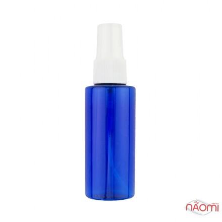Пластиковая емкость с распылителем, 70 мл, синяя, фото 1, 19.00 грн.