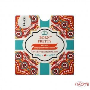 Пластина для стемпинга Born Pretty BPL-X23 Cake, сладости
