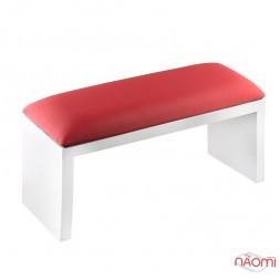 Подлокотник для рук Rainbow Store настольный, на ножках 32х11х16 см, цвет красный