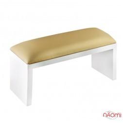 Подлокотник для рук Rainbow Store настольный, на ножках 32х11х16 см, цвет золото
