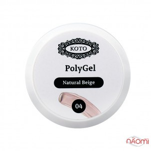 Полігель Koto Polygel 04 Natural Beige, 30 мл