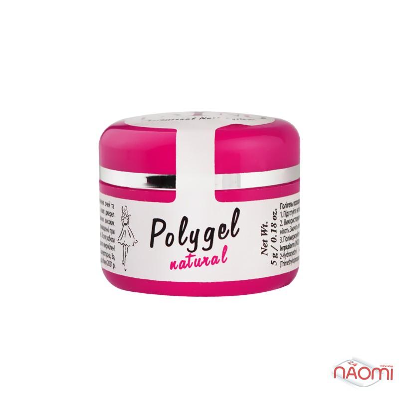 Полигель Fayno Professional Polygel Light Pink, прозрачно-розовый, 5 г, фото 2, 90.00 грн.