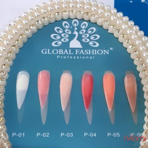 Полигель Global Fashion Poly Uv Gel P 01 Clear, 30 мл