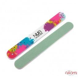 Полировщик для ногтей NUB 600/3000, цвет зеленый