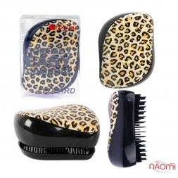 Гребінець Hairway Compact Easy Combing Leopard, колір леопард