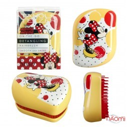 Расческа Tangle Teezer Compact Styler Disney Minnie Mouse Sunshine Yellow