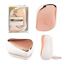 Расческа Tangle Teezer Compact Styler Rose Gold Ivory