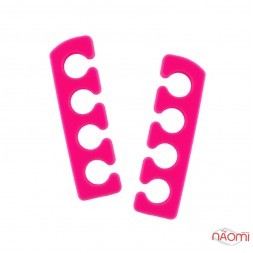 Разделитель для пальцев ног, силиконовый, пара