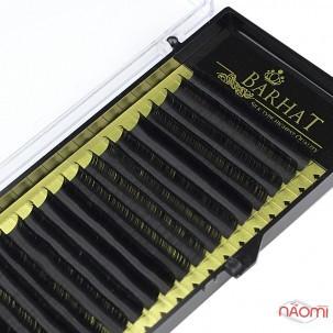 Вії Barhat C 0.10 (18 рядів: 10 мм), чорні
