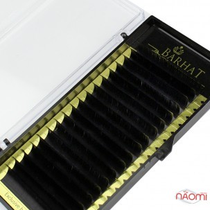 Вії Barhat C 0.10 (18 рядів: 13 мм), чорні