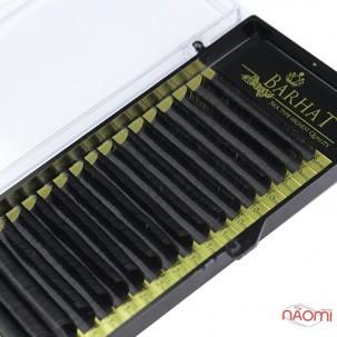 Вії Barhat CC 0.07 (18 рядів: 8-15 мм), чорні
