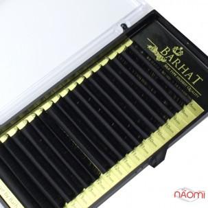 Ресницы Barhat CC 0.10 (18 рядов: 8-15 мм), черные