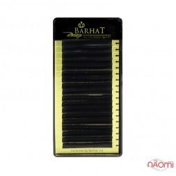 Вії Barhat C 0.10 (18 рядів: 12 мм), чорні