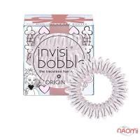 Резинка-браслет для волос Invisibobble ORIGINAL Princess of the Hearts, цвет розовый, 3 шт, 30х16 мм