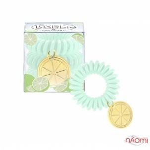 Резинка-браслет для волос Invisibobble ORIGINAL Happy Hour Main Squeeze, светло-зел., прозр., 6 шт.