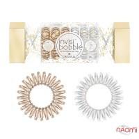 Резинка-браслет для волос Invisibobble ORIGINAL Duo Cracker, цвет бронзовый, перламутровый, 6 шт.