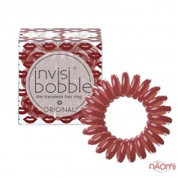 Резинка-браслет для волос Invisibobble ORIGINAL Marilyn Monred, цвет красный, 30х16 мм, 3шт.