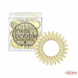 Резинка-браслет для волос Invisibobble ORIGINAL Youre Golden, цвет мерц. золотой, 35х10 мм, 3 шт