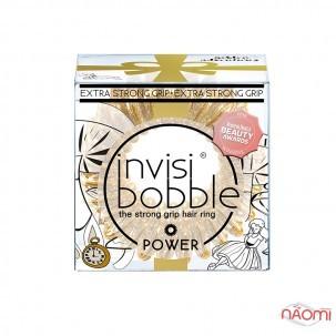 Гумка-браслет для волосся Invisibobble POWER Golden Adventure, колір золото, 40х25 мм, 3 шт.
