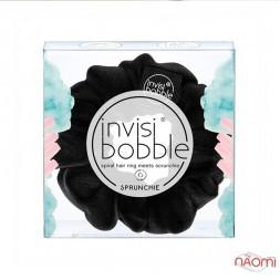 Резинка-браслет для волос Invisibobble SPRUNCHIE True Black, цвет черный