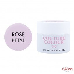 Гель однофазний Couture Colour 1-phase Builder Gel Rose petal ніжний рожевий, 50 мл