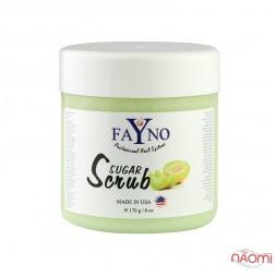 Сахарный скраб Fayno, дыня, 170 г