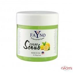 Сахарный скраб Fayno, лимон, 170 г