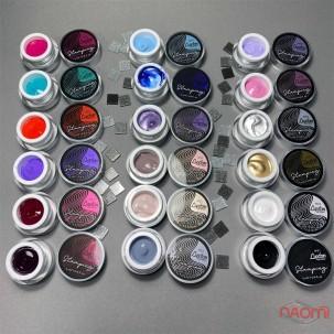 Гель-краска для стемпинга LUXTON Stamping Gel Paint 01, цвет черный, 5 мл