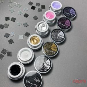 Гель-краска для стемпинга LUXTON Stamping Gel Paint 04, цвет серебристый металлик, 5 мл