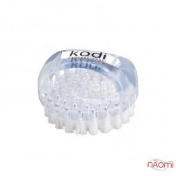 Щетка круглая Kodi Professional для удаления пыли, прозрачная