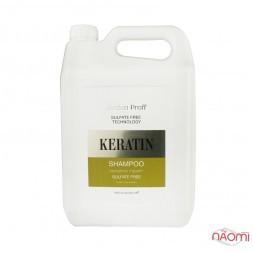 Шампунь для волосся Jerden Proff, безсульфатний з кератином, 5 л