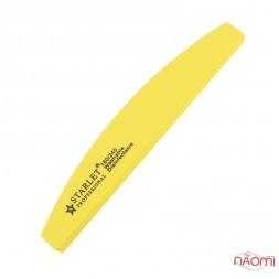 Шлифовщик для ногтей Starlet Professional 180/240, полукруг, цвет в ассортименте