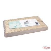 Шпатель деревянный ItalWax Full Body, одноразовый 20х2,4 см, 60 шт.