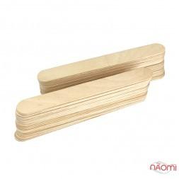 Шпатель деревянный Lidan, одноразовый 15 х1,7 см, 50 шт.