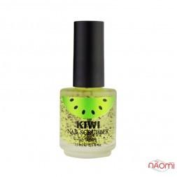 Скраб для нігтів Naomi Kiwi Nail Scruber, ківі, 15 мл
