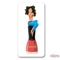 Скрапер для стемпинга Naomi24, 2,5х5,5 см