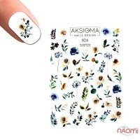 Слайдер-дизайн 2D Aksioma 024 Квіти, листя
