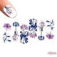 Слайдер-дизайн 1316 Цветы, акварель