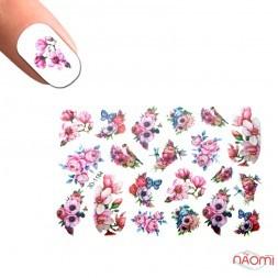 Слайдер-дизайн 3D 1184 Цветы