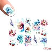 Слайдер-дизайн 3D 352 Цветы
