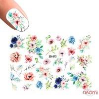 Слайдер-дизайн 3D 572 Цветы