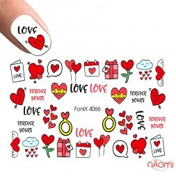 Слайдер-дизайн 4066 Love, сердца