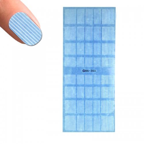 Слайдер-дизайн DS 203 Белые линии, фото 1, 24.00 грн.